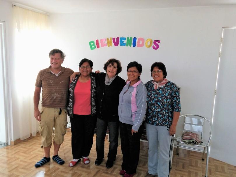Josefa e Carmen gruppo
