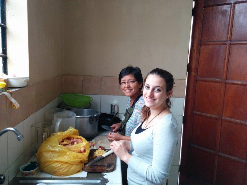 Miriam Elisa e i polli